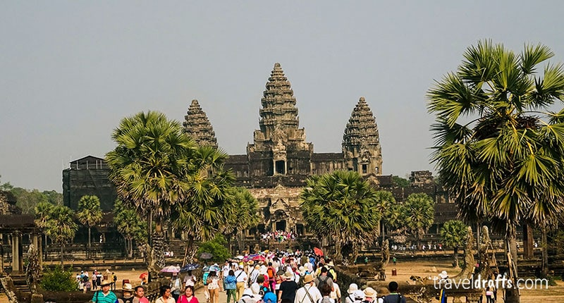 How to visit Angkor-Wat Cambodia