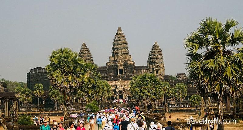 How to visit Angkor-Wat Cambodia