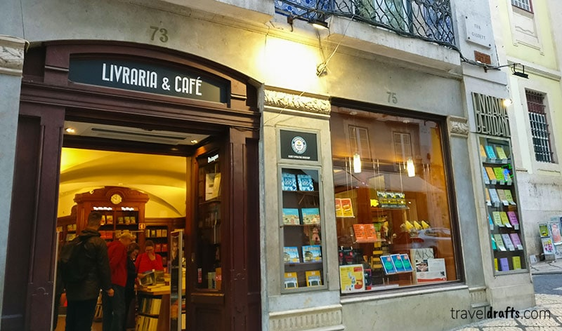 Bertrand bookstore in Lisbon