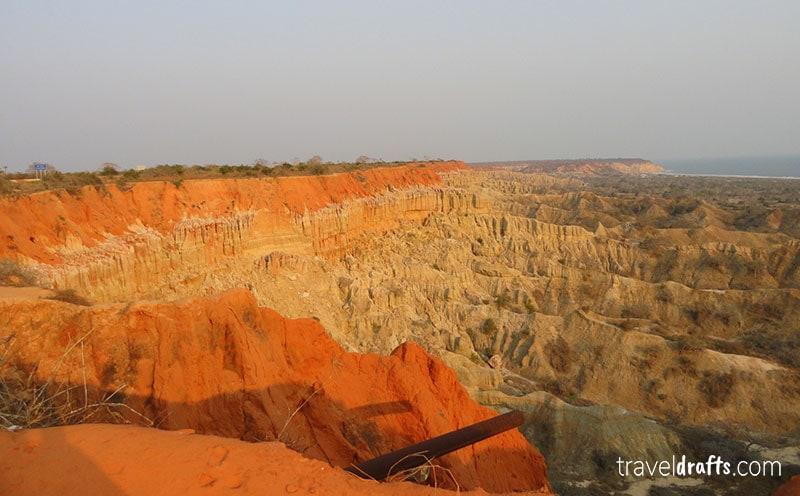 Angola pontos de interesse - Miradouro da Lua