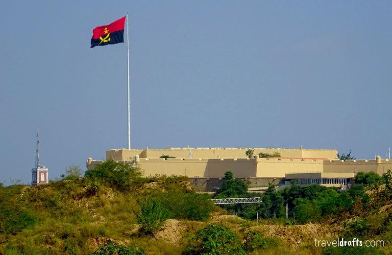 Top atracções angola - Forte S. Miguel em Luanda