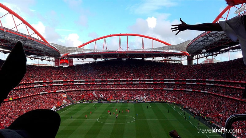 Go to a football match in Portugal