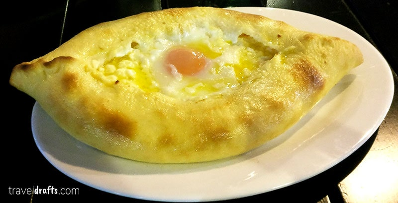 Adjaran-Khachapuri Georgian food - What to eat when you visit Georgia