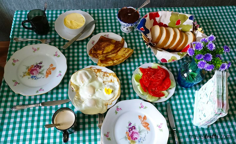 Amazing Breakfast in Georgia