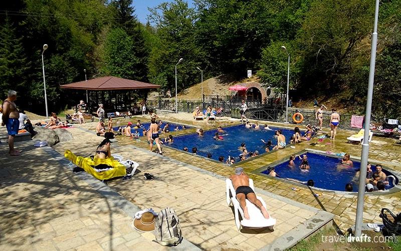 Travel to Borjomi in Georgia