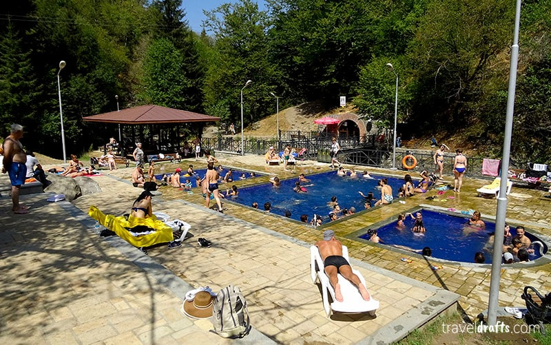 You should travel to Borjomi in Georgia