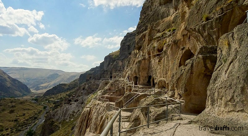 Visit Vardzia in Georgia is one of the coolest Georgia day trips