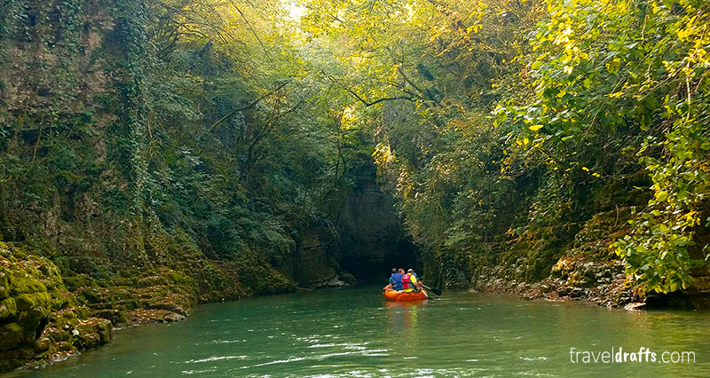 What to do in Kuataisi Georgia - Martvili canyon