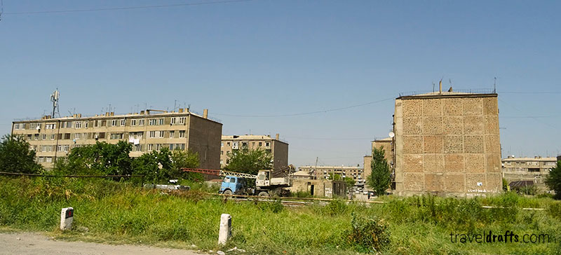 Travel in Armenia and the tourists