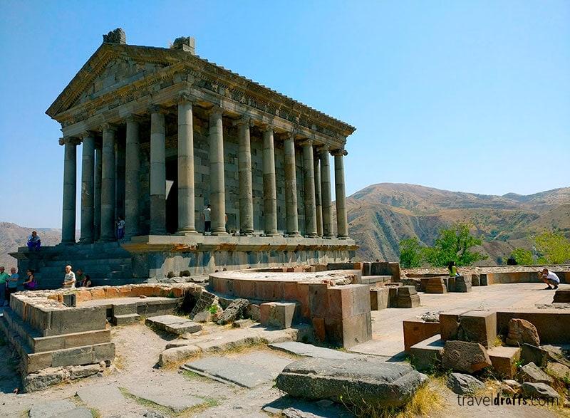 yerevan day trips - Garni Temple