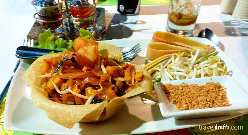 Comida típica Tailandesa  é picante