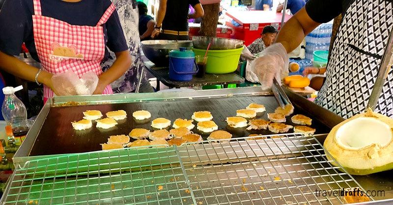 melhores sobremesas para comer na Tailândia