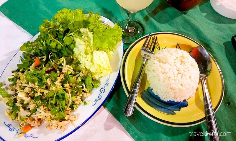 Melhor pratos da cozinha tailandesa
