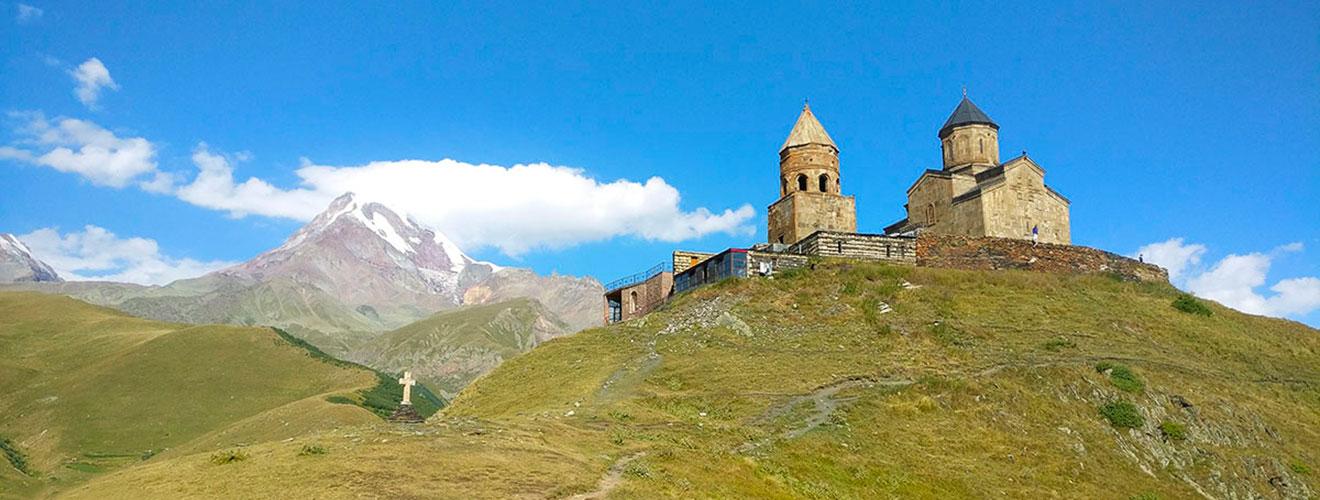 things to do in Kazbegi and the Georgian military road