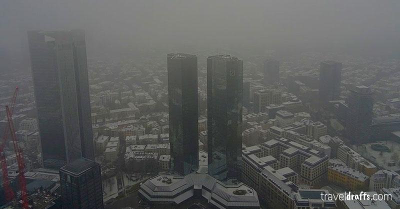 Viagem a Frankfurt Inverno
