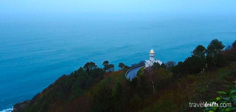 3 days in San Sebastian itinerary - Mount Igueldo Donostia