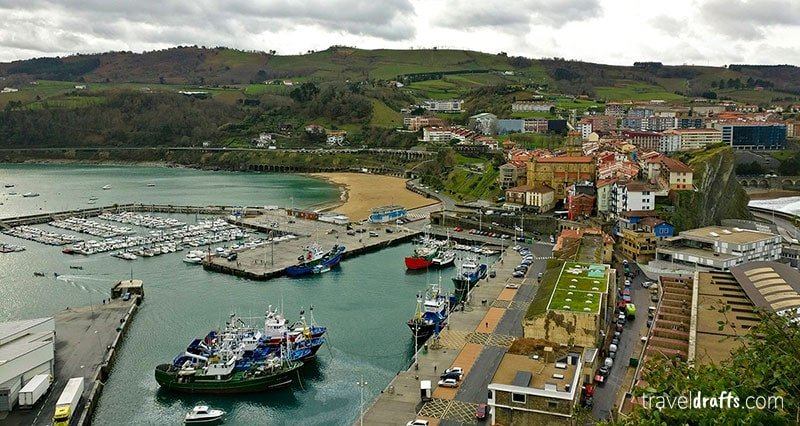 Getaria é uma pequena gema escondida neste percurso entre San Sebastian e Bilbau