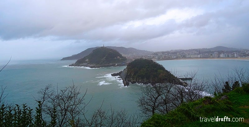 visit Santa Clara Island Donostia
