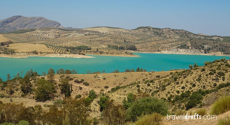 The beautiful water in the whole region