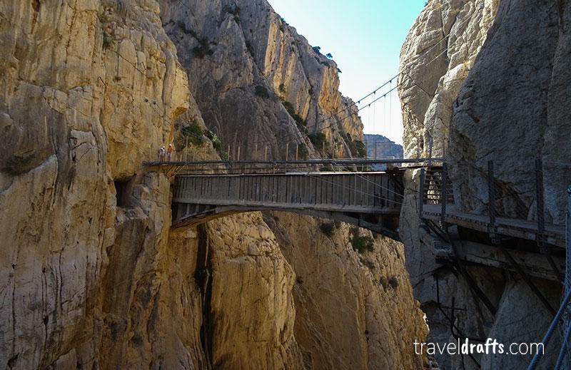 Ponte no Caminito del Rey