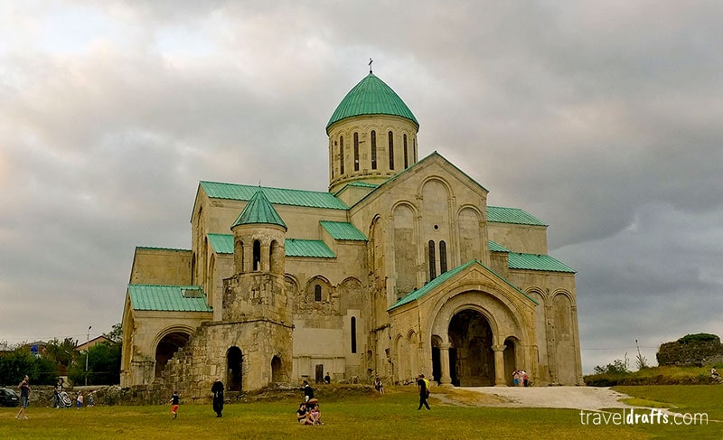 What to see in Kutaisi Georgia - Bagrati Cathedral