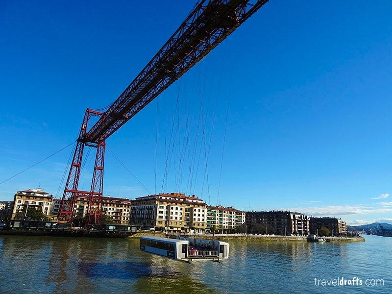 A ponte de Vizcaya é uma atração única e obrigatória em qualquer viagem ao pais basco!