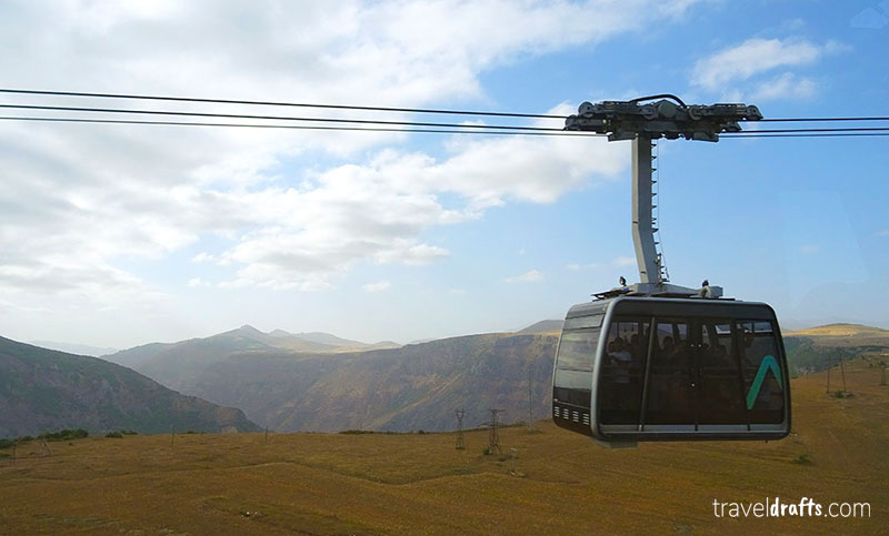 Wings of Tatev Armenia - one of the coolest things to do in Armenia