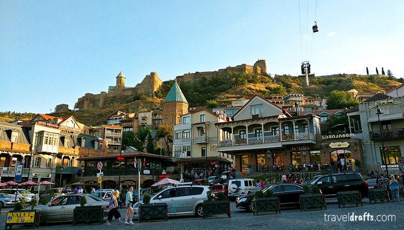Narikala Fortress Tbilisi Georgai