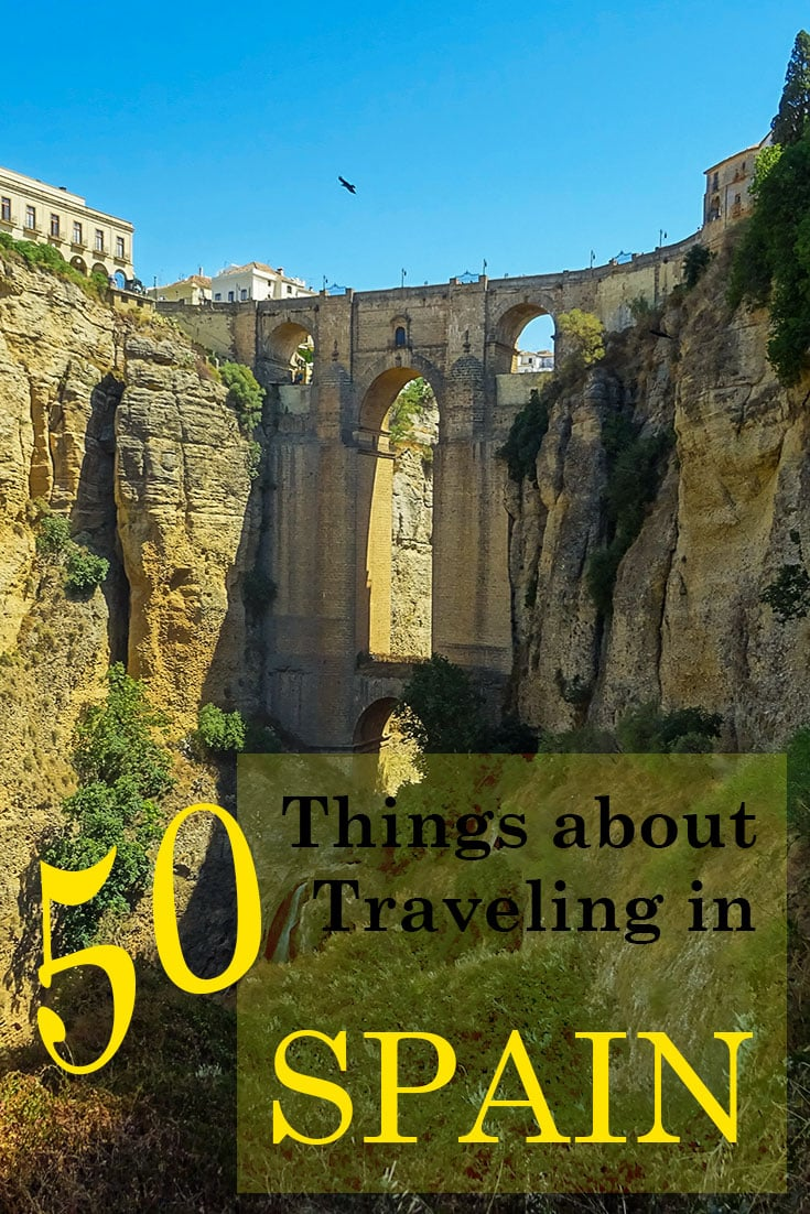 Things to know before traveling in Spain