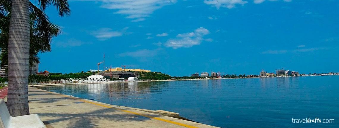 Where to go in Angola? Luanda's boardwalk