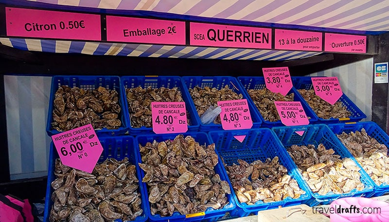 best oysters in the world in Cancale