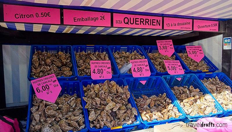 Onde ir na Bretanha para comer ostras