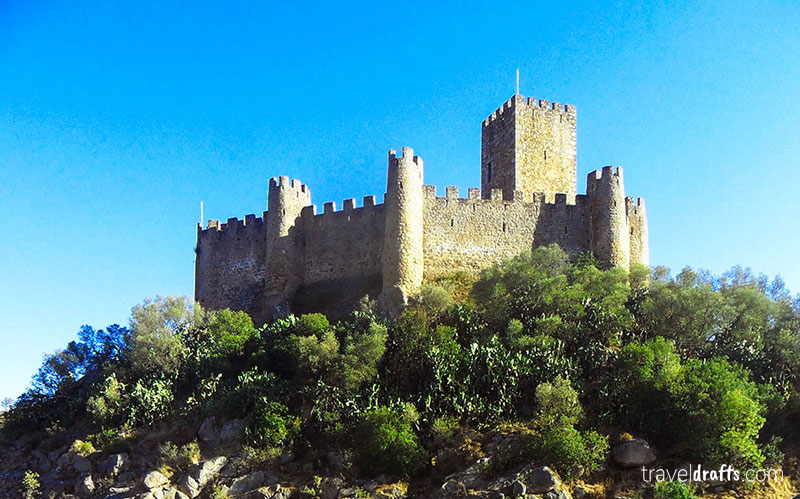 travel in Portugal -the  castles