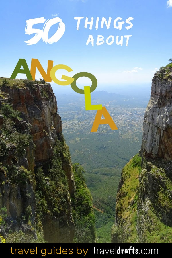 50 Things about Angola