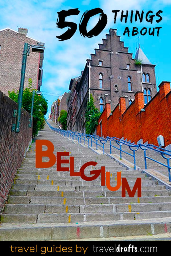 50 things about travel to Belgium