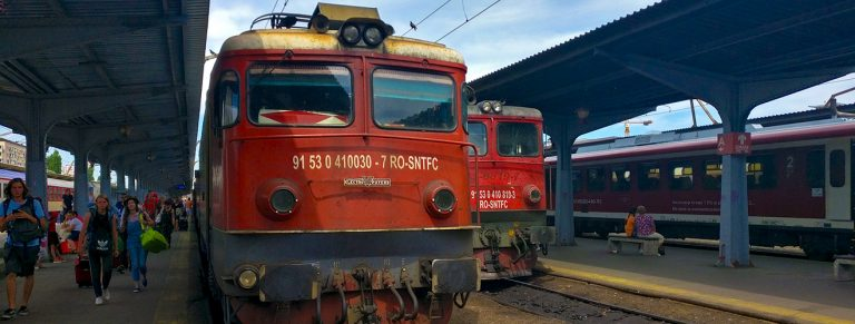 Budapest to Bucharest by train