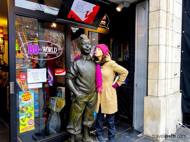 Comics bookstore in Brussels - Belgium travel guide