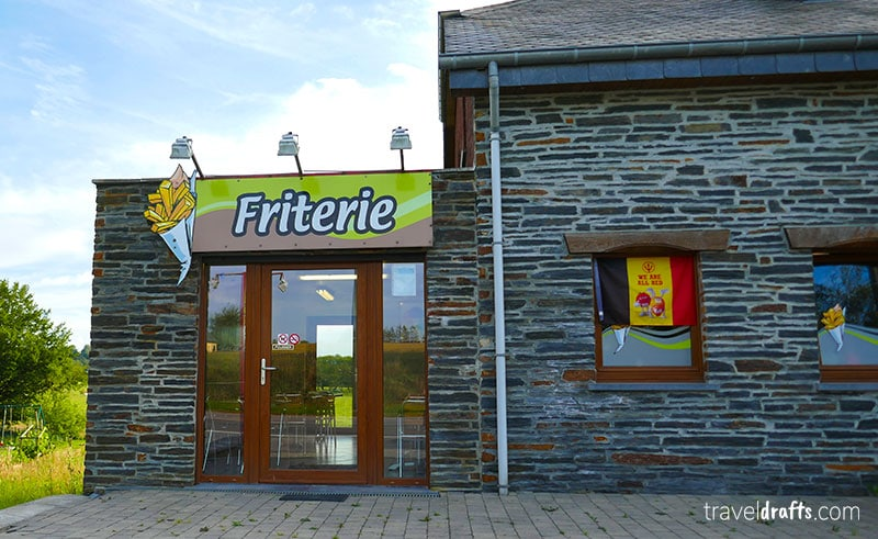 The Belgium realy love their fries - travel information