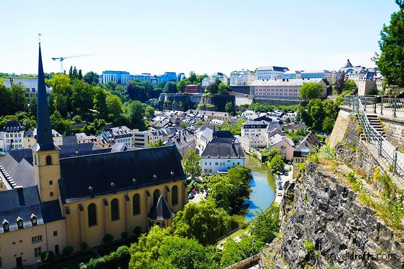 Melhores forma de viagem no Luxemburgo - dicas