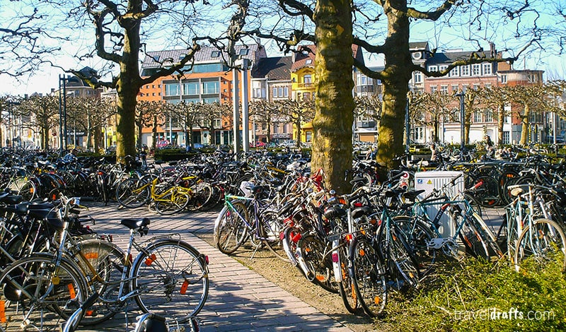 Belgium travel tips - all the bycicle in Belgium