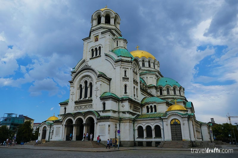 Things to do in Bulgaria - visit Alexander Nevsky Cathedral in Sofia