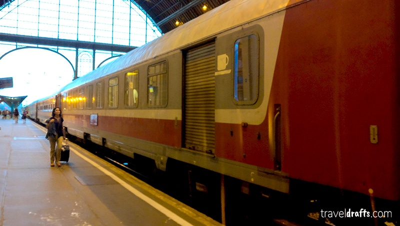 How is the Train Budapest to Bucharest