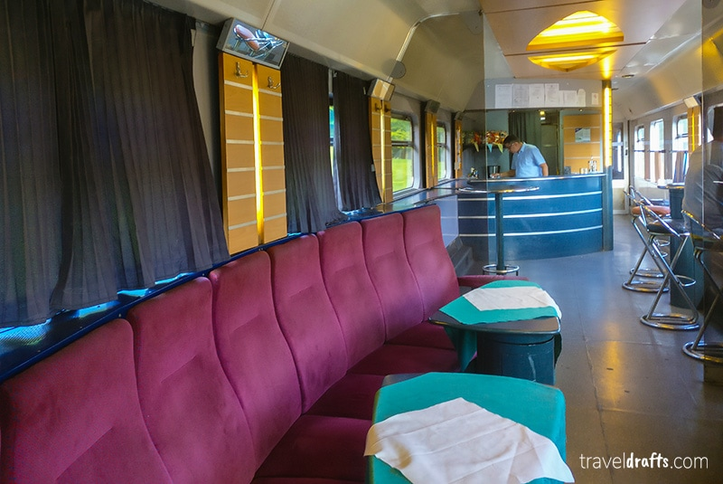 Bar of the Ister Train