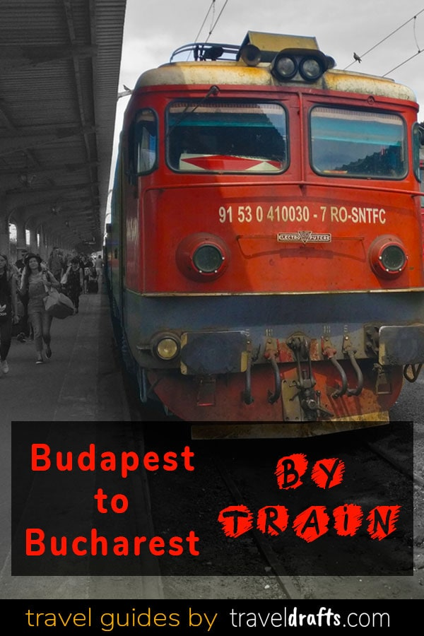 Everything you need to know about traveling from Budapest to Bucharest by train | From Bucharest to Budapest by train | the ister | #budapest #bucharest #traintrips #trains