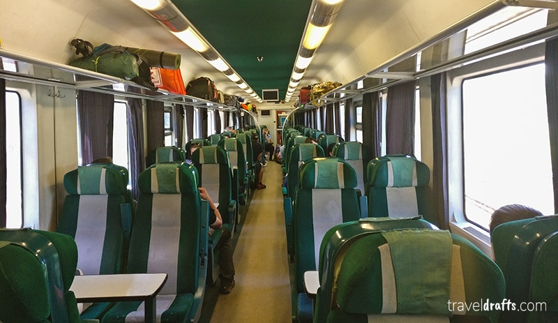 How is the Budapest-Bucharest train?