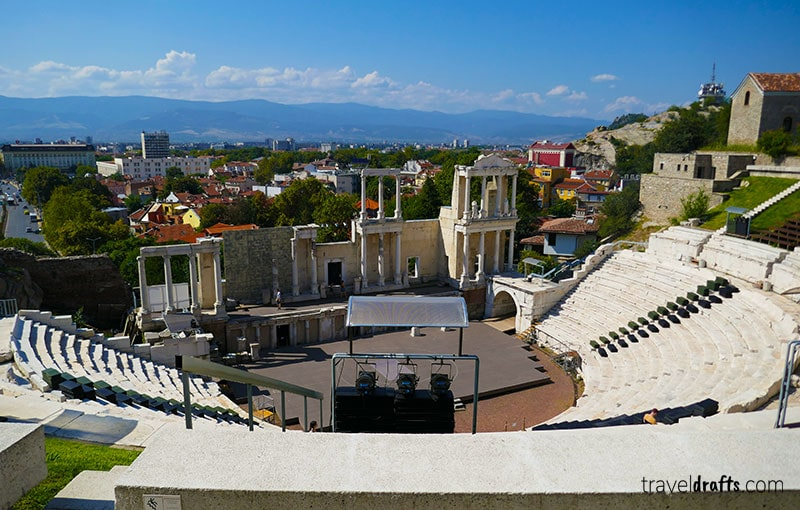 Roman Amphitheatre of the oldest city in Europe Plovdiv