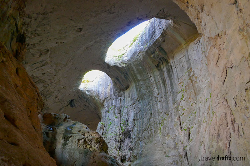 Bulgaria's most famous caves, Prohodna Cave, is one of the best things to see in Bulgaria