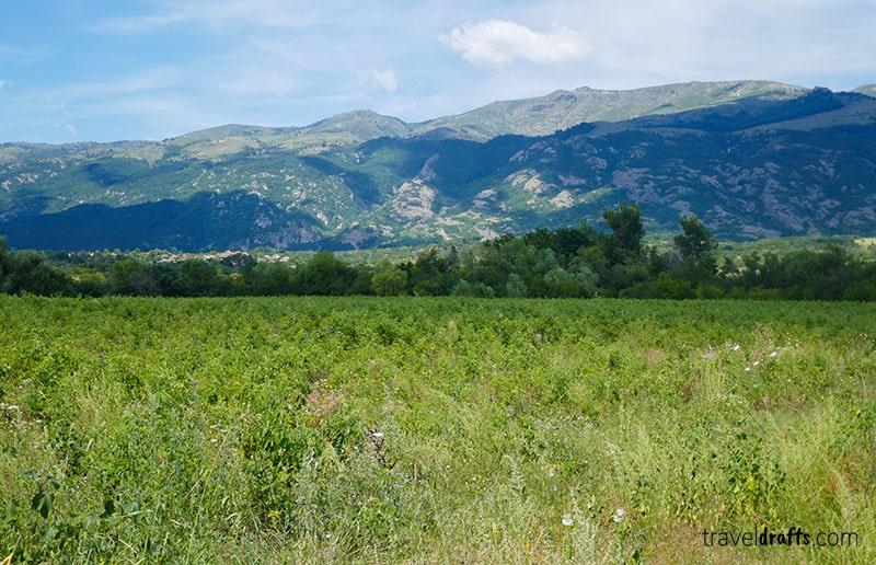 Rose Valley off season, Bulgaria
