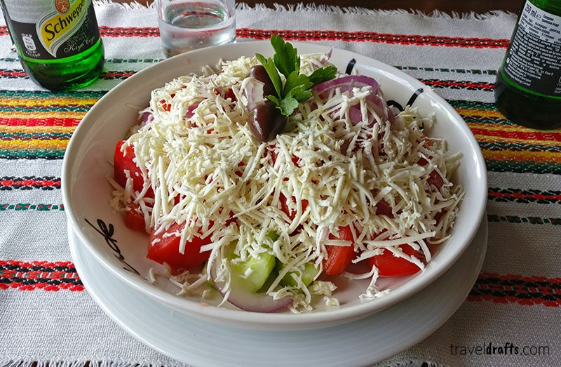Shopska Salad, Bulgaria