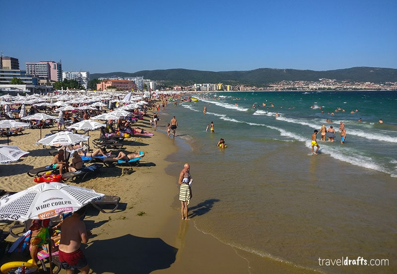 Best beaches of Bulgaria - Sunny Beach